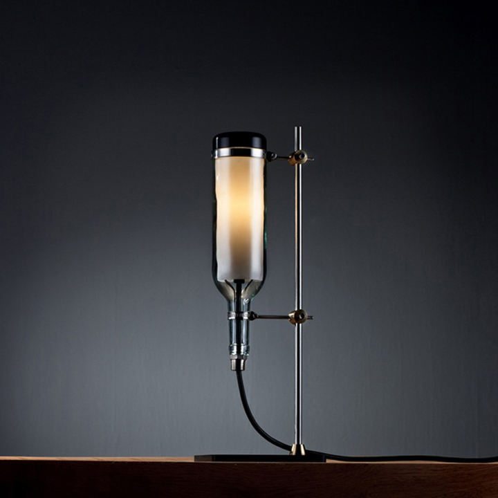187 Wine Bottle Lamp Series By John Meng