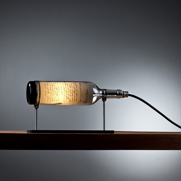 Wine Bottle Lamp Series by John Meng 04 Wine Bottle Lamp Series by John Meng