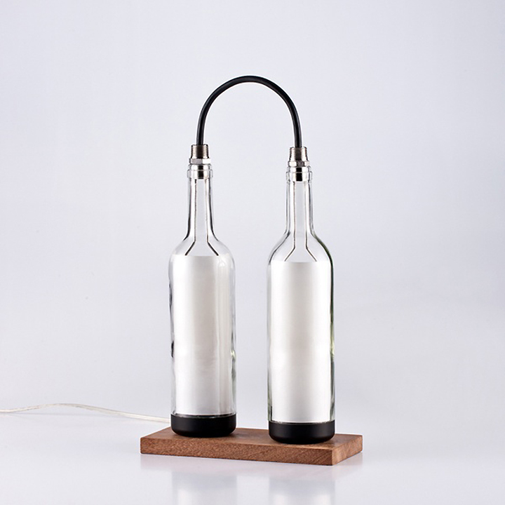 Wine Bottle Lamp Series by John Meng 06 Wine Bottle Lamp Series by John Meng