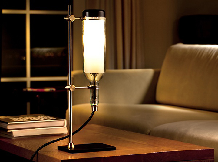 Wine Bottle Lamp Series by John Meng 09 Wine Bottle Lamp Series by John Meng