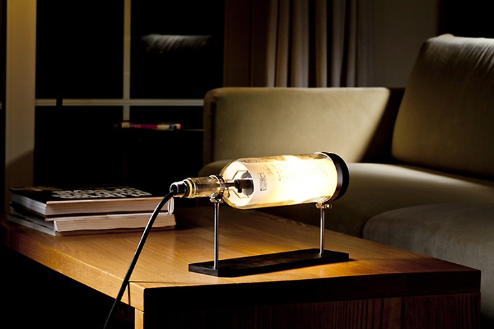Wine Bottle Lamp Series by John Meng 10 Wine Bottle Lamp Series by John Meng