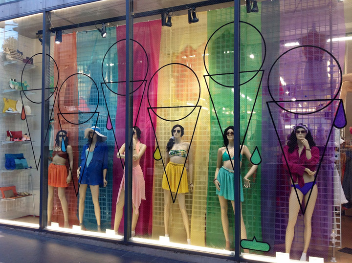 American apparel retail design blog for American window design
