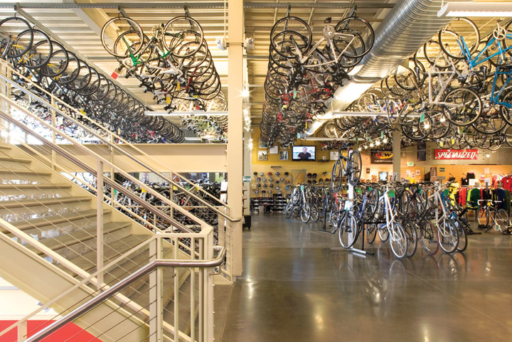 Bikes Stores And Accessories In Usa level retail and parking