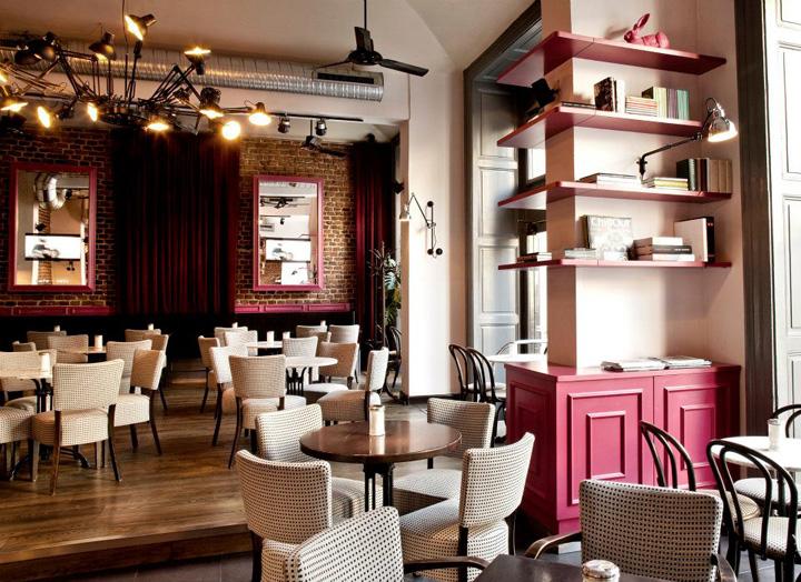 Cafes cafe cafe prague retail design blog for Design hotel praga