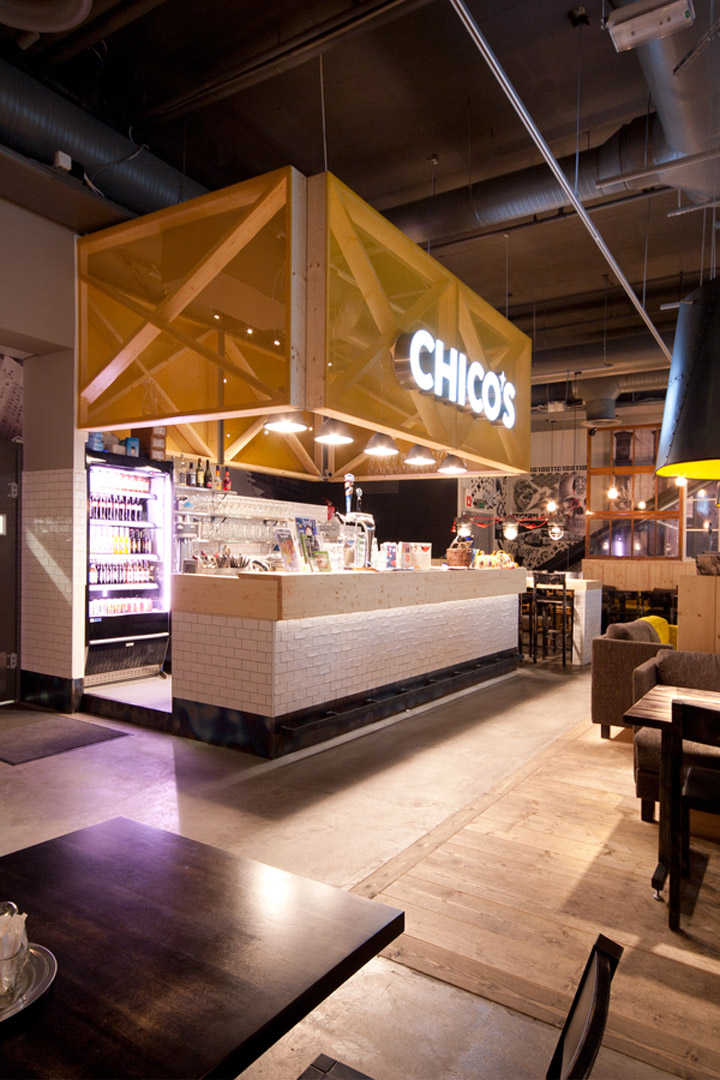 Chico s restaurant by amerikka design office ltd espoo