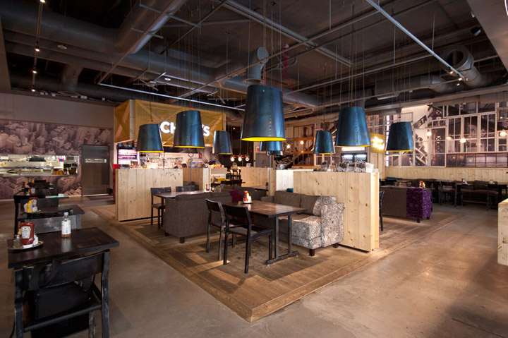 chico s restaurant by amerikka design office ltd espoo finland retail design blog. Black Bedroom Furniture Sets. Home Design Ideas