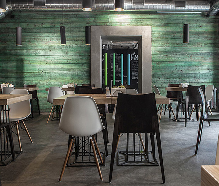 Inviting Modern And Sustainable C House By Studio Arthur: Fresh Restaurant By Sundukovy Sisters, Moscow » Retail
