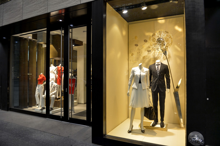 187 Hugo Boss Window Displays 2012 Summer Toronto