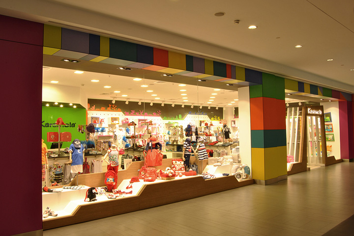 Women clothing stores. Children clothes store