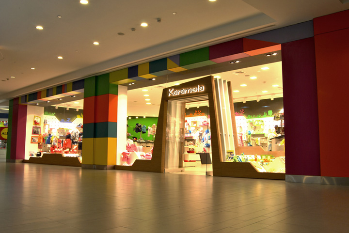187 Karamela Children Clothing Store By Oso Architects Istanbul