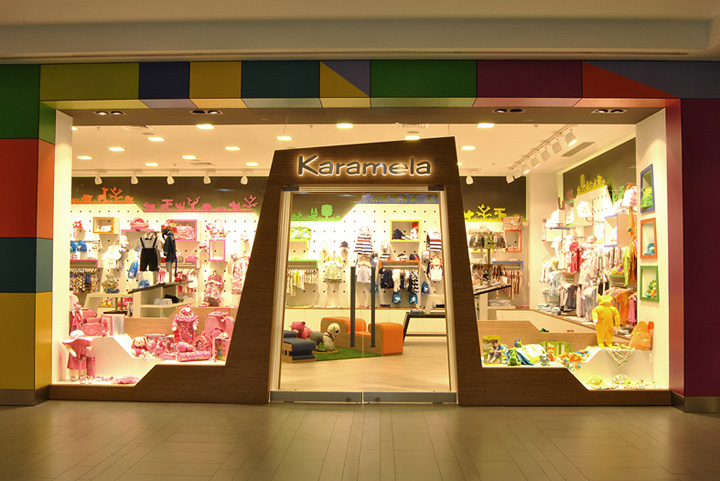» Karamela children clothing store by OSO Architects, Istanbul