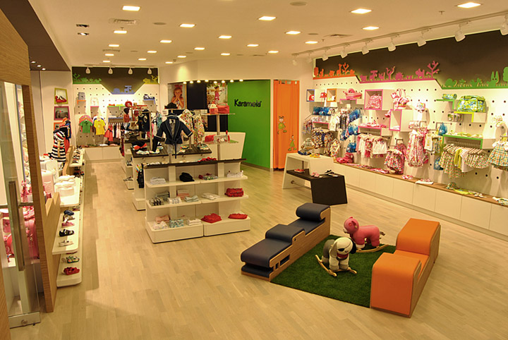 Karamela children clothing store by OSO Architects, Istanbul ...