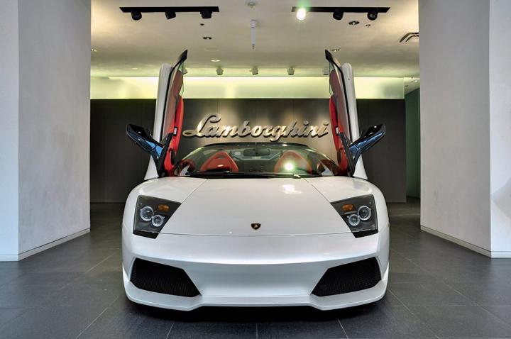 Lamborghini Gold Coast Showroom By Dmac Architecture
