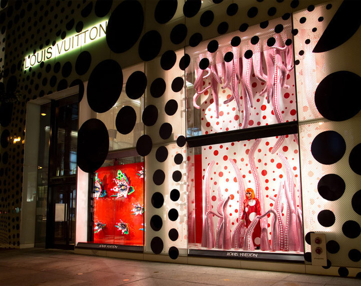Louis Vuitton Fifth Avenue visual merchandising, New York » Retail ...