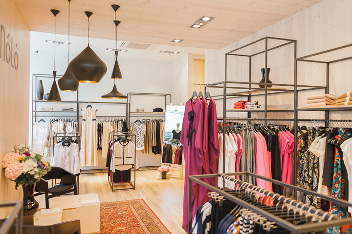 Clothing Boutique Interior Design Ideas Nl store main interior forms