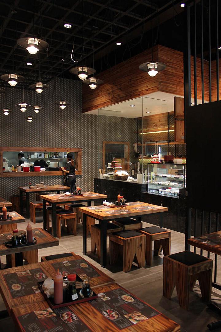 Noodle dumpling canteen by archizone sydney retail