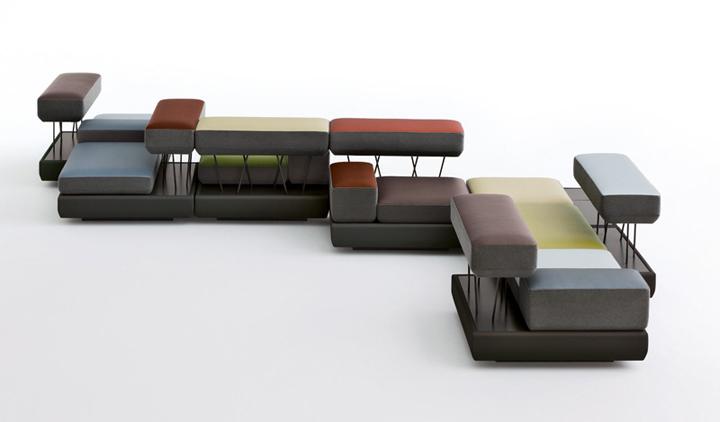 thiết kế ghế sofa lấy cảm hứng từ thác nước