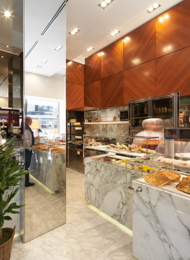 ROSSIampROSSI Modern Bakery By Andrea Langhi Milan Retail