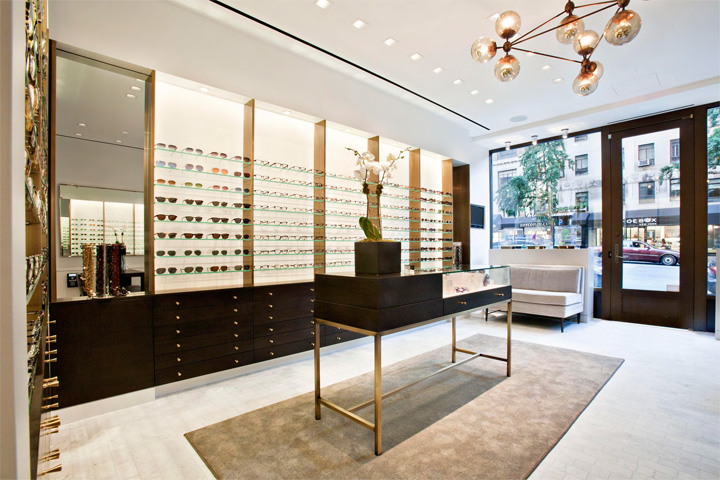 9b92aa348c2 Robert Marc eyewear store by S. Russell Groves Architect