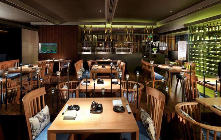Tatsu Japanese Cuisine Restaurant By Blu Water Studio Kuala
