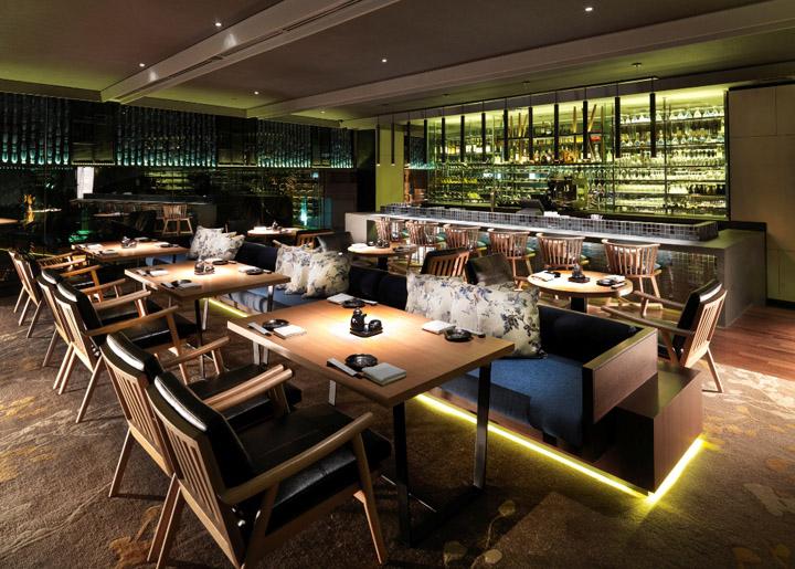 Tatsu japanese cuisine restaurant by blu water studio kuala lumpur - Bar cuisine studio ...