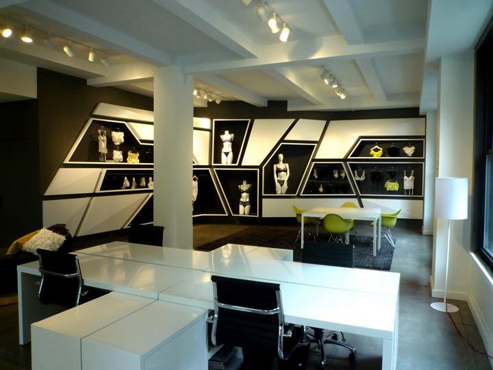 Van De Velde Showroom By LABscape Architecture New York