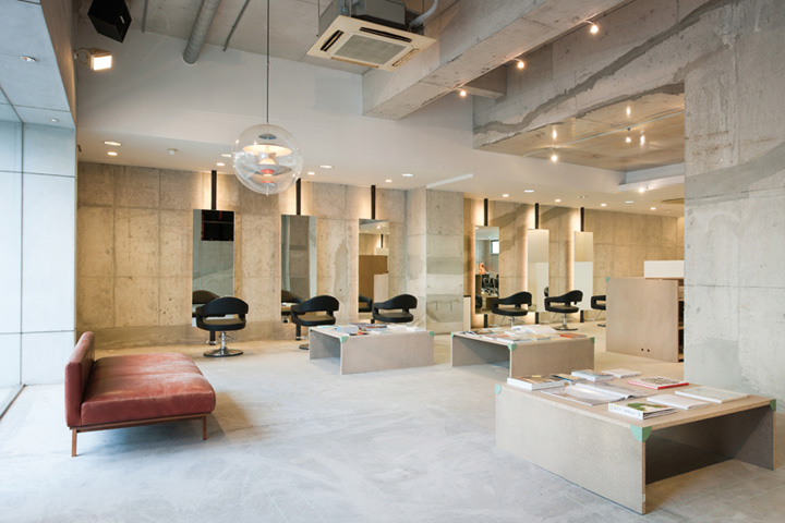 Vinyl's Mix hair salon by SIDES CORE, Japan