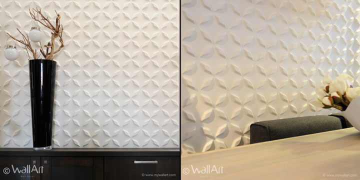 Wallart eco friendly 3d wall panels retail design blog for 3d wall decoration panel