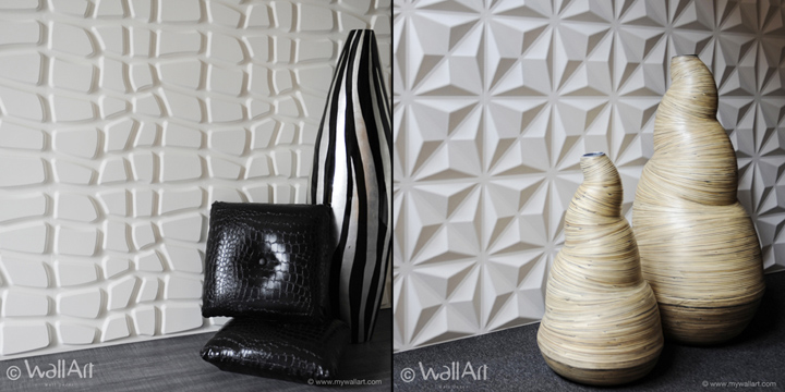 3 D Wall Art wallart eco-friendly 3d wall panels » retail design blog