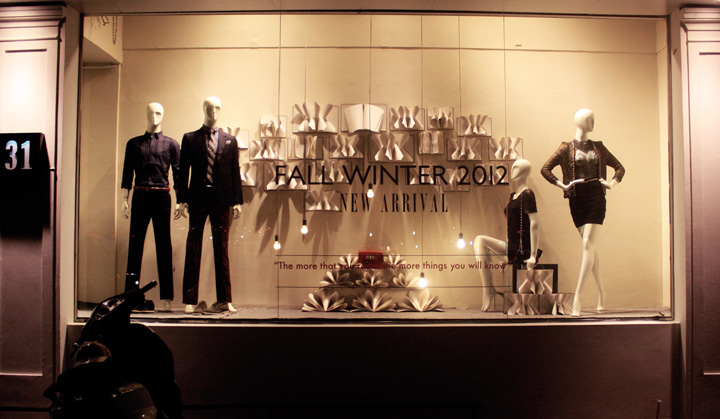 Chic Contemporary Spaces Rendered By Anh Nguyen: 31 Boutique Windows By Minh Anh Nguyen, Hanoi