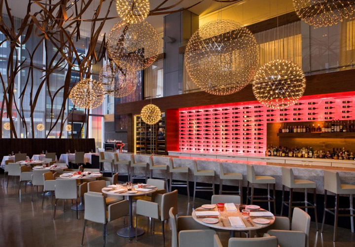 Aria Restaurant by Urszula Tokarska & Stephen R. Pile Architect