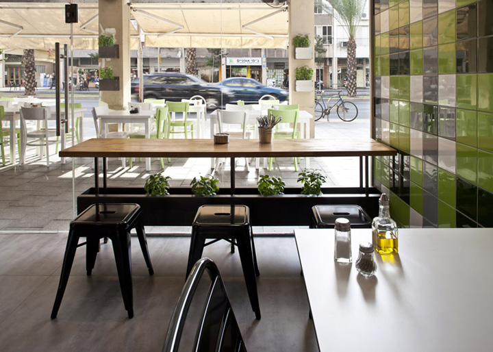 187 Avanti Fast Food Pasta Restaurant By Studio Opa Tel Aviv