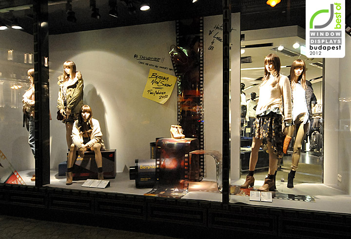 e5a86f438d0 Bershka window displays Autumn 2012