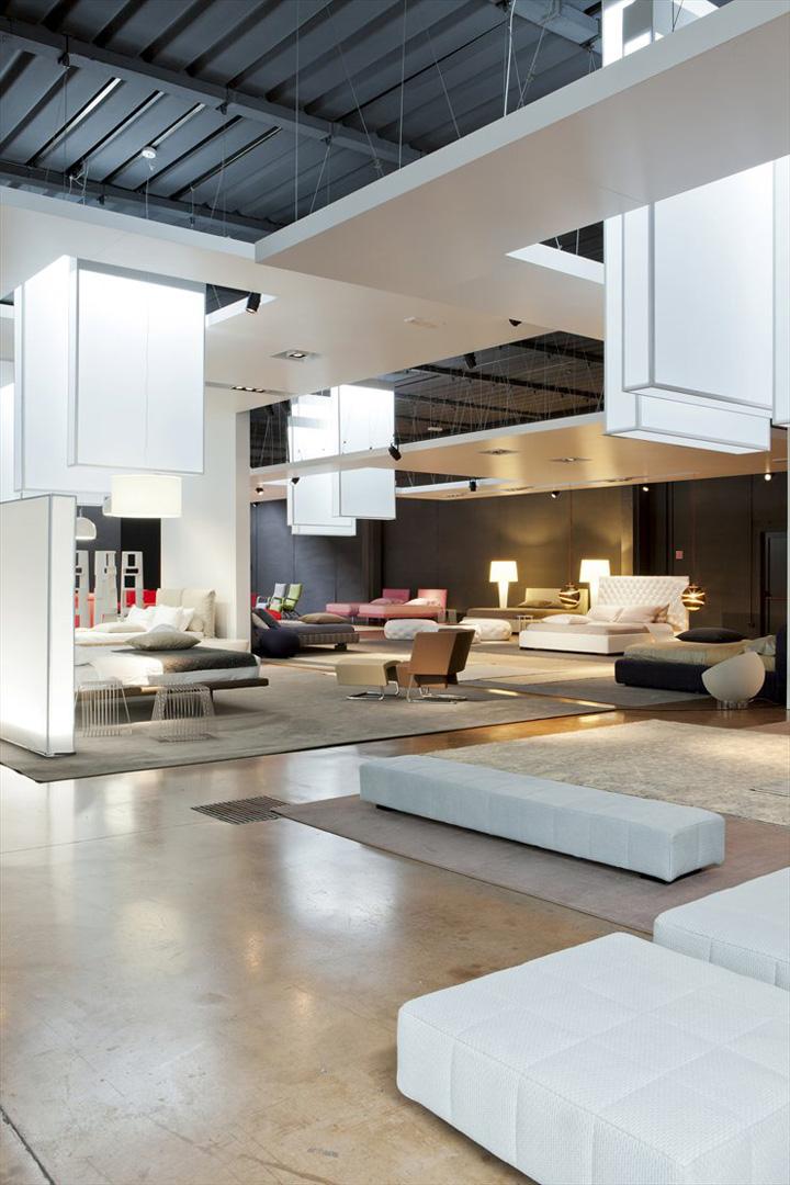 Bonaldo Showroom By Studio Lipparini Padua Italy