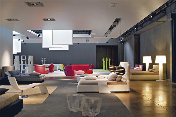 187 Bonaldo Showroom By Studio Lipparini Padua Italy