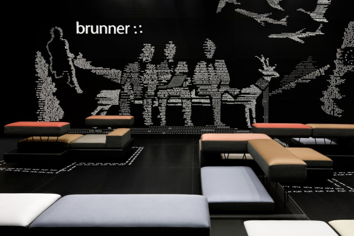 187 Brunner Fair Stand At Salone Del Mobile By Ippolito