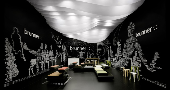 Brunner Fair Stand At Salone Del Mobile By Ippolito Fleitz Group Milan Retail Design Blog