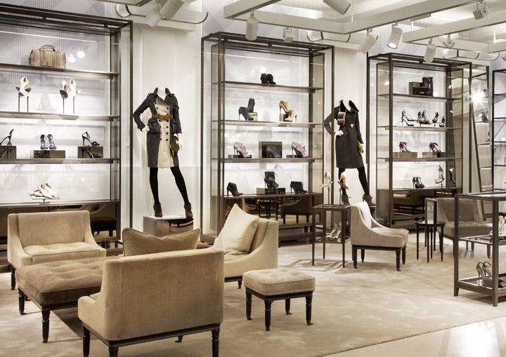 Burberry flagship store london retail design blog for Modern furniture stores london