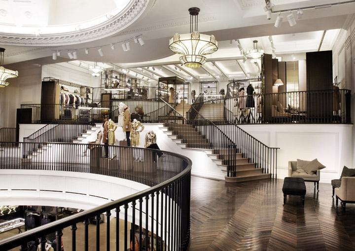 Burberry flagship store, London » Retail Design Blog