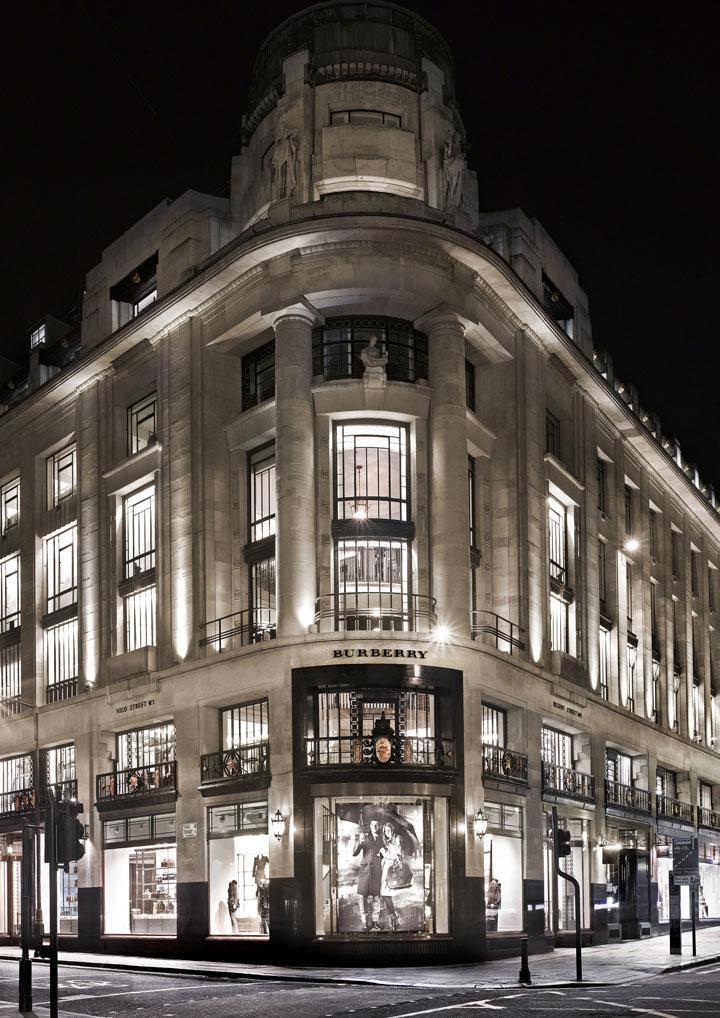 Burberry Opens Store in London