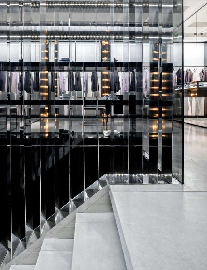 Dior homme flagship store new york retail design blog for 57th street salon