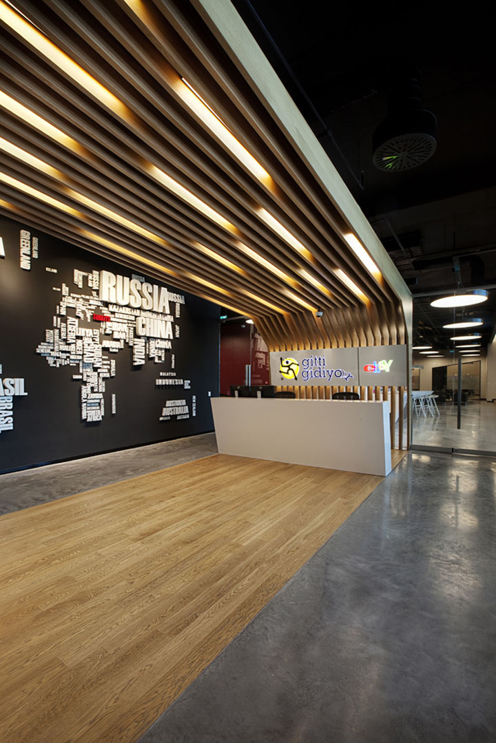 Ebay Office By Oso Architects Istanbul Retail Design Blog & Office Lighting Design - Interior Design azcodes.com