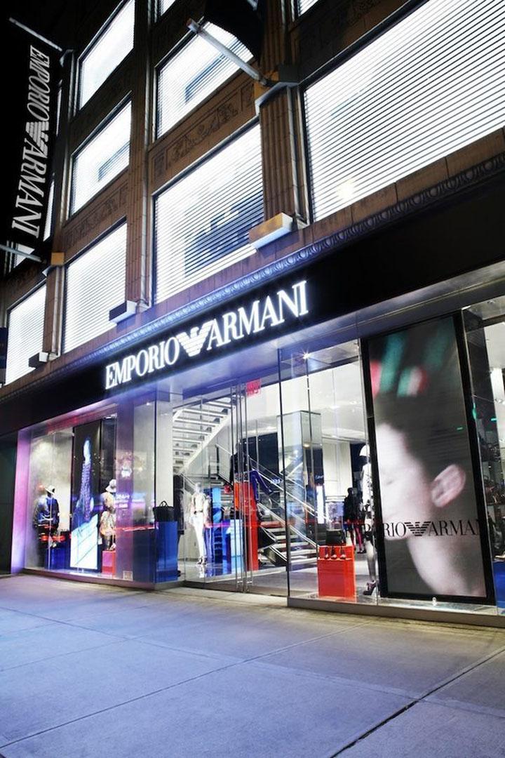 Emporio armani store new york retail design blog for Armani new york