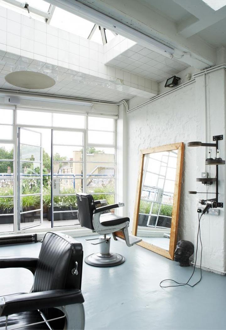 Fourth floor hair salon london retail design blog for Interior stylist london