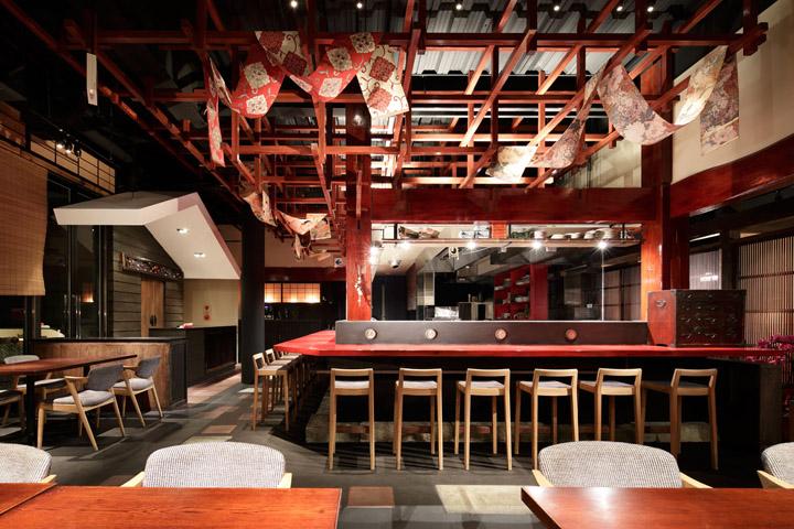 187 Fukui Bouyourou Restaurant By Hako Design Tokyo