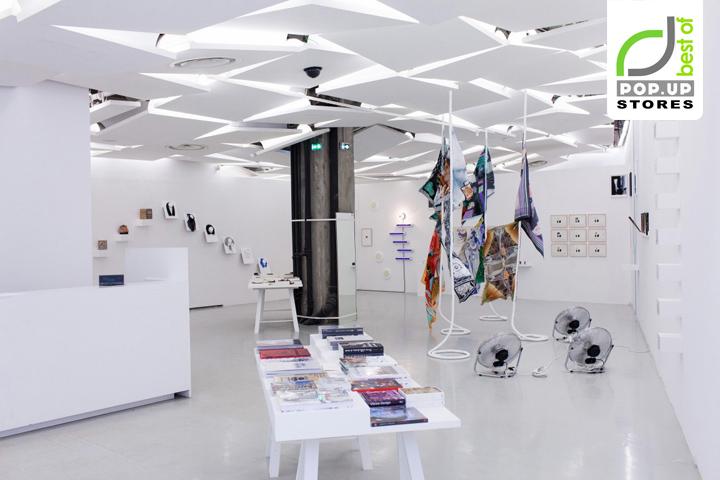 Pop up galerie des galeries pop up store by julie pfligersdorffer retail d - Designer pop up store ...