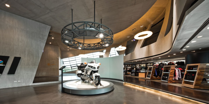 Honda BigWing showroom by Whitespace 04 Honda BigWing showroom by Whitespace, Thailand