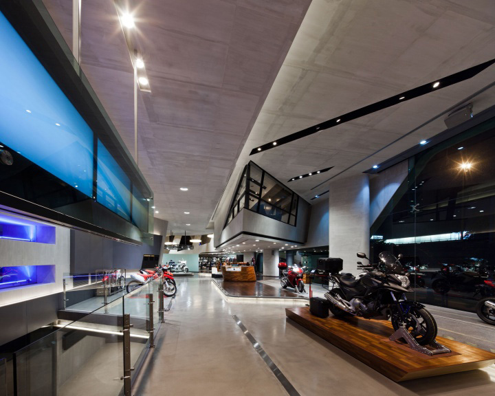 Honda BigWing showroom by Whitespace Honda BigWing showroom by Whitespace, Thailand