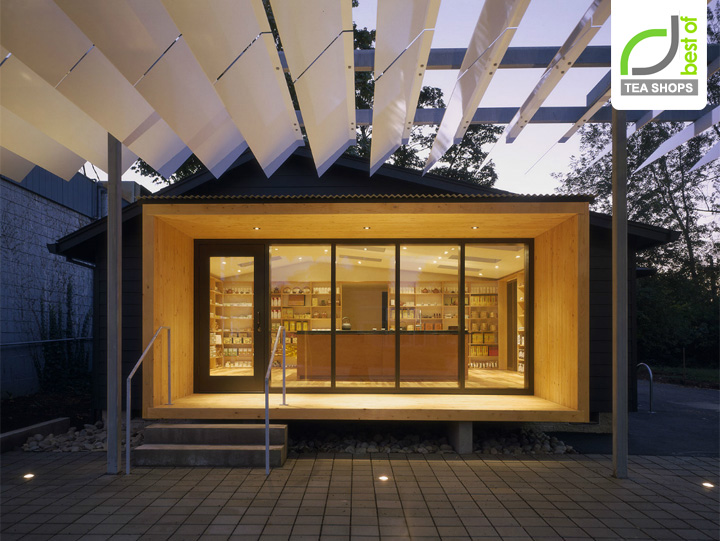 187 Tea Shop J Tea Retail By Benjamin Weachter Eugene Usa