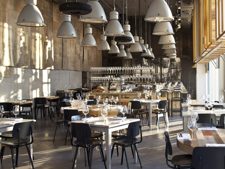 Jaffa restaurant by bk architects tel aviv retail for Amenagement restaurant interieur